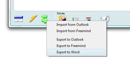 Export Goalenforcer to MS Word